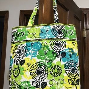 Vera Bradley Limes Up toggle tote